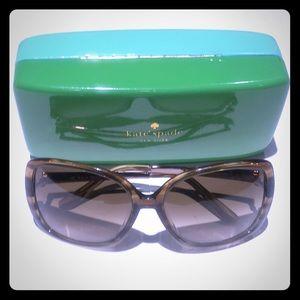 Kate Spade DARRYL'S woman's brown sunglasses